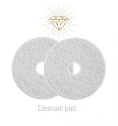 Diamant Pad Wit 15 Inch, 380 X 22 Mm Stap 1