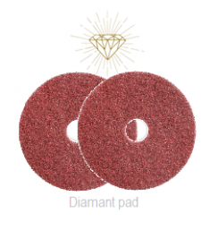 "Diamant Rood 15"", ø380 mm Stap 3"