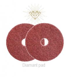 "Diamant pad rood 17"""