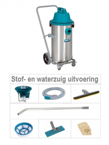 Duovac 34 STOF- EN WATERZUIG Uitvoering