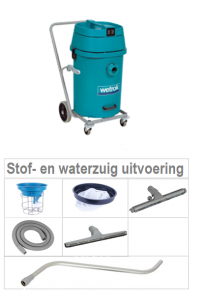Duovac 50 stof- en waterzuiger