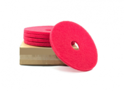 Poly Pad Rood 9 Inch, 229x22 Mm (5)